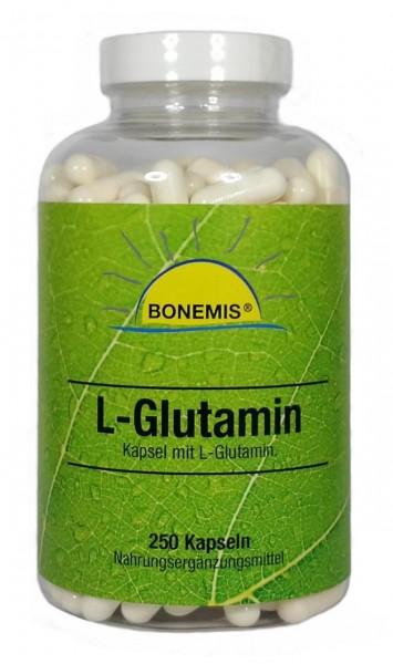 Bonemis® L-Glutamin, 250 Kapseln