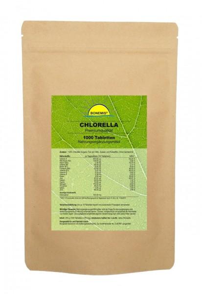 Bonemis® Chlorella Vorrats-/Nachfüllpack, 1000 Tabletten im Beutel