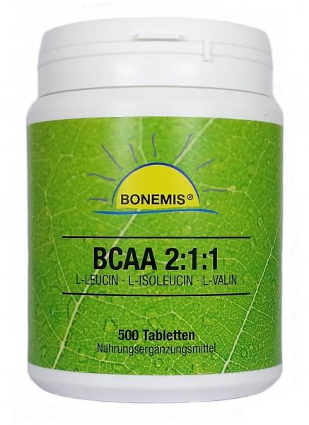 Bonemis® BCAA 2:1:1 Tabs, 500 Stück à 633 mg