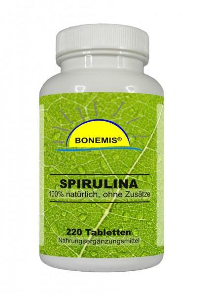 Bonemis® Spirulina. 220 Tabletten à 500 mg