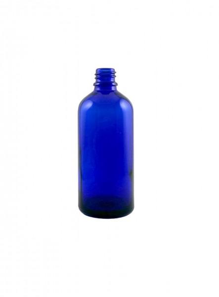 Blauglasflasche 100 ml (DIN 18)
