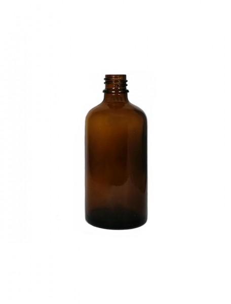 Braunglasflasche 100 ml (DIN 18)