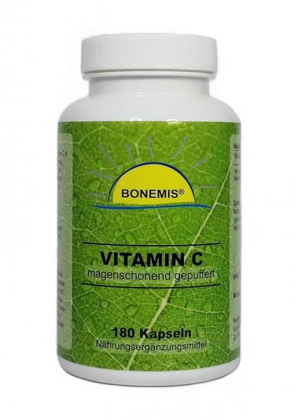 Vitamin C magenschonend gepuffert, 180 Kapseln