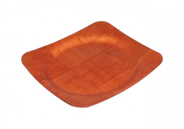 Amerikanisches Pappelholz-Tablett, 14 cm