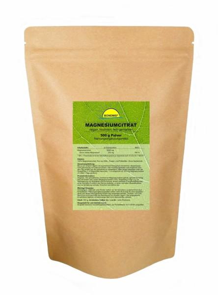 Bonemis® Magnesiumcitrat, Pulver, 500 g im Beutel