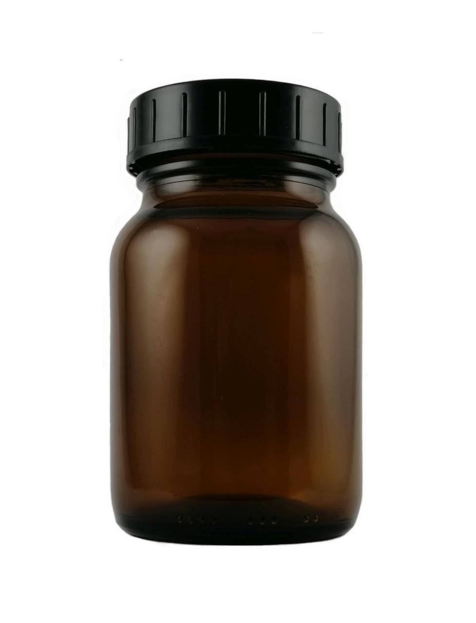 Weithalsglas-Braunglas-Medizinflasche-250-ml