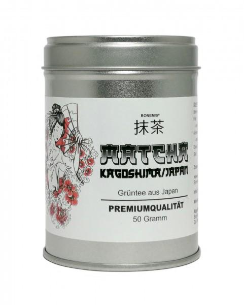 Bonemis® Matcha, Premiumqualität aus Kagoshima (Japan), 50 g