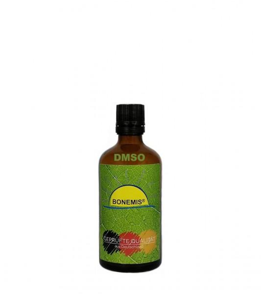 Bonemis® DMSO 99,9%, 100 ml in Glasflasche mit Tropfer