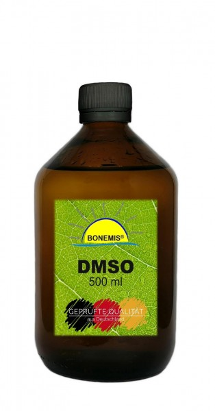 Bonemis® DMSO 99,9%, 500 ml in Glasflasche