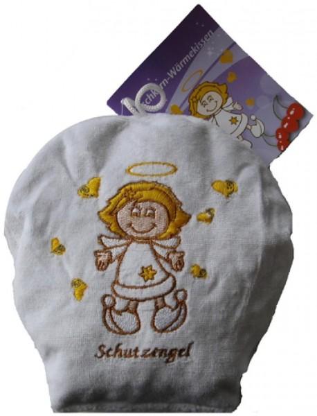 Kirschkern-Wärmekissen mit Schutzengel-Motiv