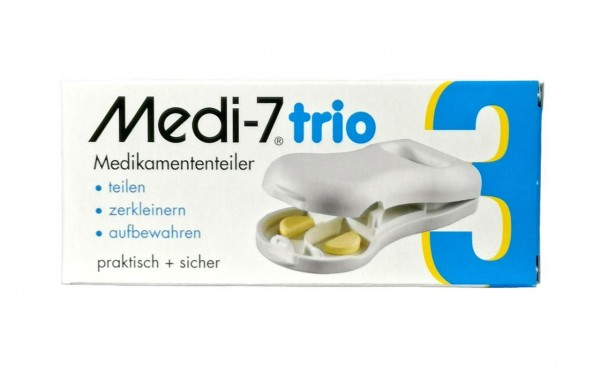 Tablettenteiler Medi-7 trio