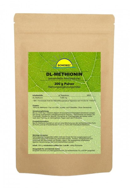 Bonemis® DL-Methionin, Pulver, 200 g im Beutel