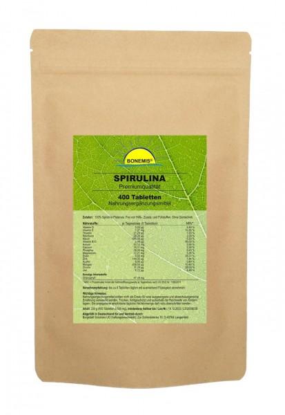 Bonemis® Spirulina Vorrats-/Nachfüllpack, 400 Tabletten im Beutel
