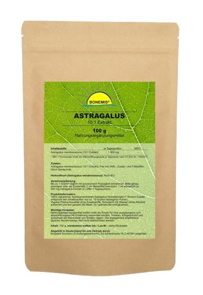 Bonemis® Astragalus, hochkonzentrierter 10:1 Extrakt, veganes Pulver, 100 g im Beutel