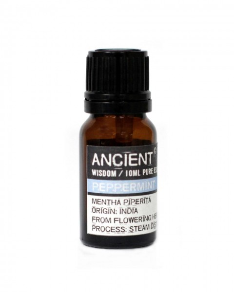 Ätherisches Pfefferminzöl, 100% naturrein, 10 ml