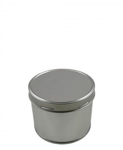 Aromadose / Nachfüllbehälter, 500 ml, aus hochwertigem Weißblech, mit Schraubverschluss