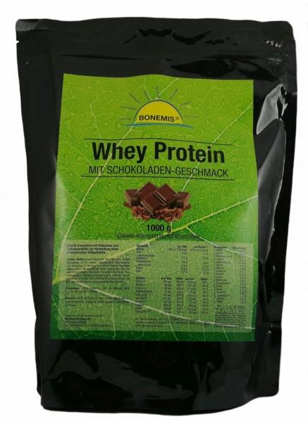 Bonemis® Whey Protein, 1 kg, Schokoladengeschmack